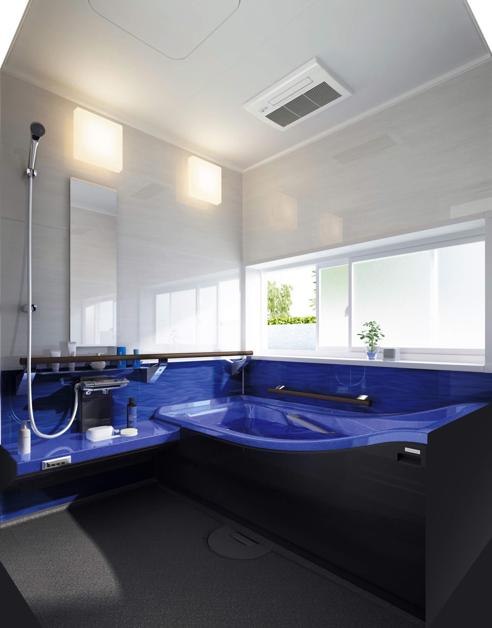 あたたかお風呂リフォームを実現!クリナップのアクリアバス