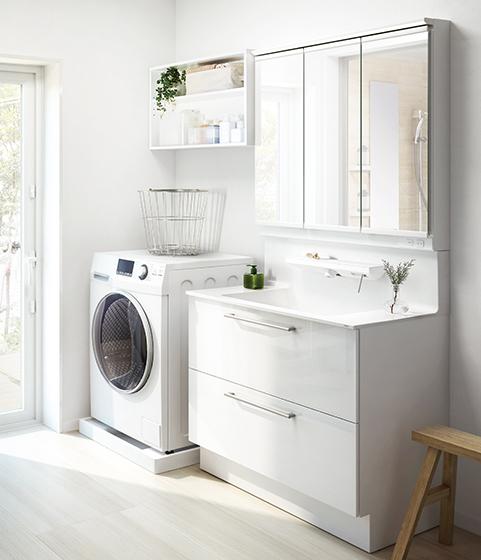 TOTO洗面台オクターブの最新便利機能のご紹介!