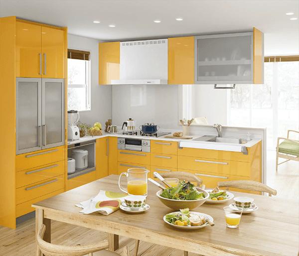 ノーリツ「レシピア」のキッチンスタイル