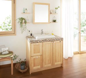 ウッドワンのおしゃれな洗面台