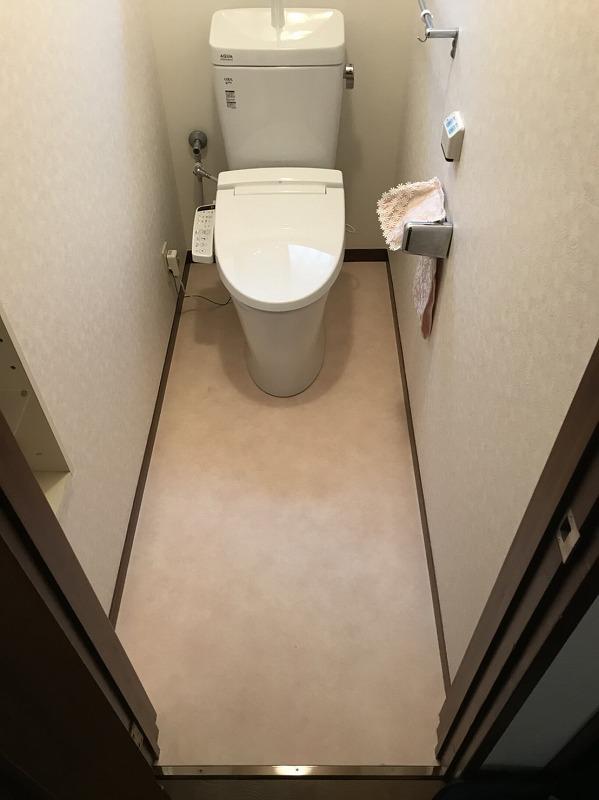 渋川市にてトイレ LIXILアメージュの工事が完了しました!