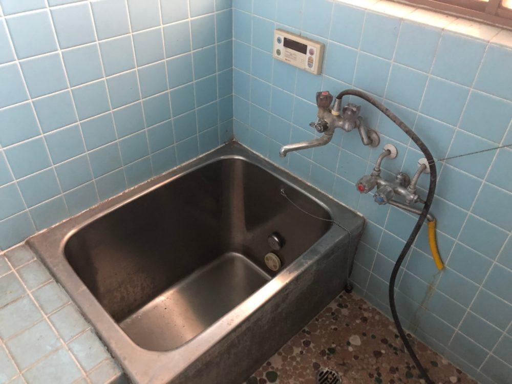 伊勢崎市にて冬に備えたお風呂工事前の現場調査に行ってきました。