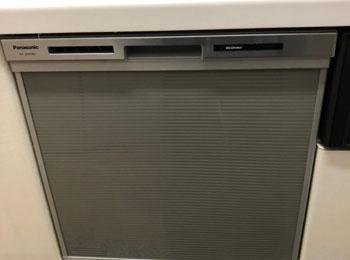 前橋市K様 ビルトイン食洗器交換工事